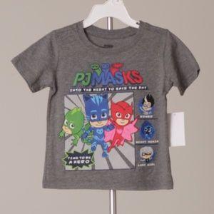 "PJ MASKS - Boys Shirt ""Time to be a Hero"" (NWT)"
